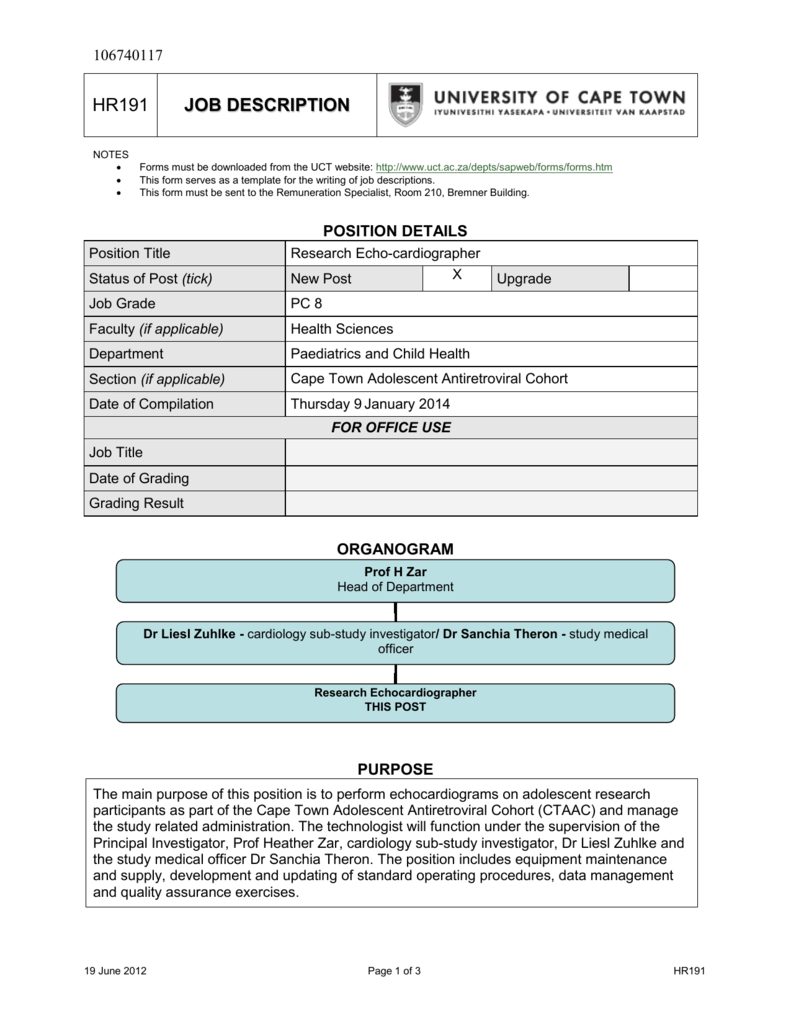 university of cape town application forms