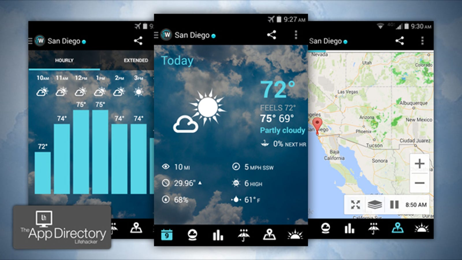 elders weather application for android