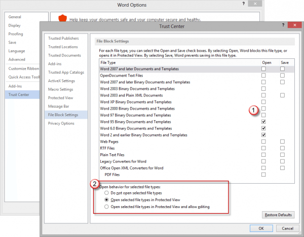 application blocked by security settings internet explorer