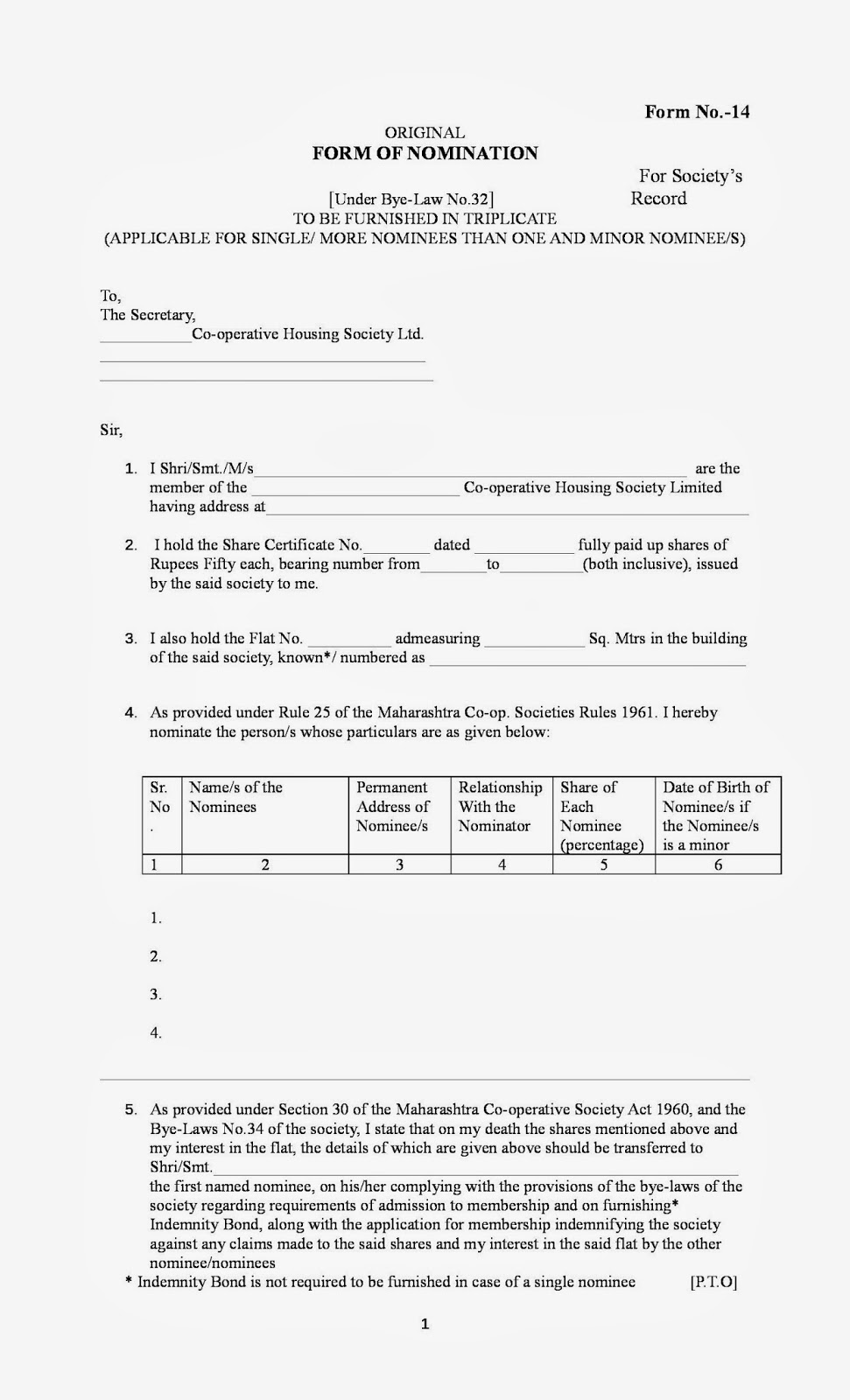 department of housing transfer application