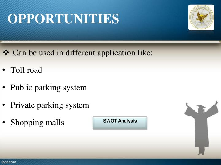smart parking applications using rfid technology